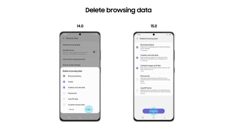 Samsung a lansat versiunea Beta a Samsung Internet 15.0